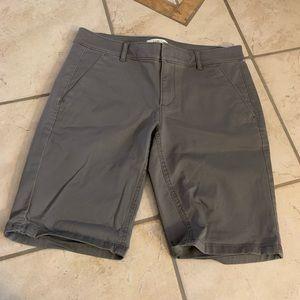NWOT! Loft Grey Shorts